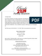 banks family reunion - 2020 final follow up