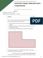 Historial de Evaluaciones Para Rodriguez Castillo Angie Maritza_ Sustentación Trabajo Colaborativo