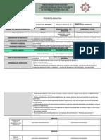 Proyecto Didáctico Exposicion Oral