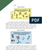 Ejercicio Aerobicos y Anaerobicos Esteeee