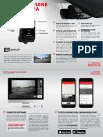 Toyota Dash Camera Quick Start Guide En
