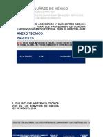 Anexo Técnico Cirugìa Cardiovascular y Ortopedia