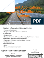 1.1 Pavement Applications - Highway Classification System