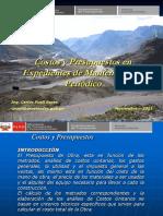 Presentacion Costos y Presupuestos Manten Periodico
