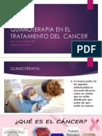 Quimioterapia en El Tratamiento Del Cáncer