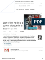 Best Offline Android Apps_ Helping You Survive Without the Internet - AndroidPIT