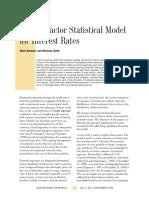 A Multi-factor Statistical Model.pdf