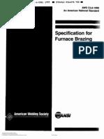 [AWS] Aws c3.6 Furnace Brazing
