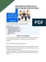 COMO GESTIONAR LOS RRHH DE TU EMPRESA GRATIS ONLINE CON FACTORIAL.docx