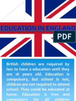 Educational System of England