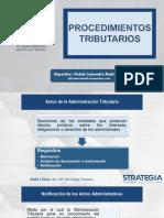 PROCEDIMIENTOS TRIBUTARIOS_2019