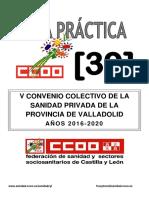Doc283790 v Convenio de La Sanidad Privada de Valladolid