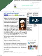 Sejarah _Tarhiman_ Dan Biografi Pengarangnya - Muslimedia News - Media Islam _ Voice of Muslim
