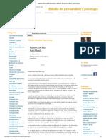 Filicidio (Arnaldo Rascovsky) _ Estudio Del Psicoanálisis y Psicología