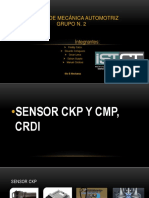 Sensores CKP Y CMP CRDI