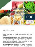 Análisis de Productos Agroindustriales Introducción