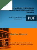 PROTOCOLOS DE ACCION EN ACCIDENTES DE TRABAJO 1.ppt