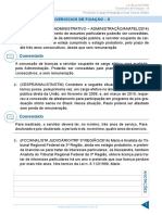 Resumo - Rodrigo Cardoso - Lei 8 112-90 - Aula 19 Exercicios de Fixacao II