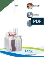 Lotix Brochure 2015
