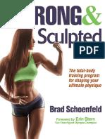 Schoenfeld Brad Strong Sculpted Human Kinetics 2016 [001 070] (1)