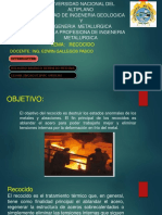 RECOCIDO PPT