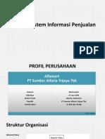 Analisis Sistem Informasi Penjualan Alfamart
