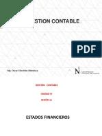 Semana 11 Estados Financieros