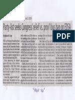 Manila Standard, July 2, 2019, Party-list Congress relief vs. prov'l ban on EDSA.pdf