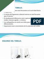 Esguinces Del Tobillo