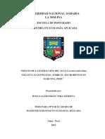 """""""Efecto de La Extracción Del Alga Lessonia Trabeculata -La Molina"""