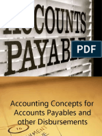 Audit of Accounts Payable