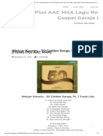 Welyar Kauntu - 50 Golden Songs, Pt. 1 (2014) [iTunes Plus AAC M4A] _ iTunes Plus AAC M4A Lagu Rohani Pujian Worship Gospel Gereja Natal.pdf