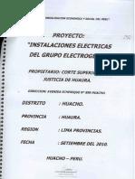 Grupo Electrógeno proyecto