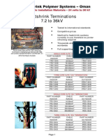 SPS Oman Catalogue Cable termination kits
