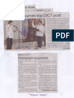 Manila Times, July 2, 2019, Honasan assumes top DICT post.pdf