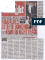 Peoples Tonight, July 2, 2019, Romualdez Duterte economic team on right track.pdf