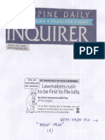 Philippine Daily Inquirer, July 2, 2019, Lawmakers rush to be first to file bills.pdf