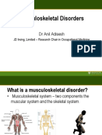 Muscoskeletal Disorders