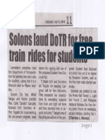 Tempo, July 2, 2019, Solons laud DoTR for free train rides for students.pdf