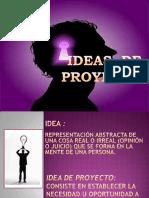 Ideas de Proyecto