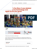 Pixar Toy Story Ingles
