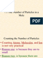 7 1 the Number of Particles In