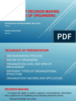 CONCEPT OF DECISION MAKING AND NATURE OF ORGANIZING.pptx