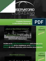 Primer Analisis de Movilidad Urbana León, Gto.