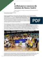 Ciência contribui para o sucesso do basquete feminino de Santo André - Esportes - Estadão