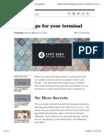 Fedora Tools