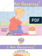 - The Best Me I Can Be - I Am Generous! -Scholastic Inc (2004)