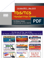TDS & TCS Handwritten Notes By CA Kishan Kumar.pdf