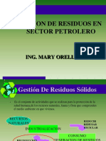 GESTION DE RESIDUOS SOLIDOS  EN SECTOR PETROLERO.ppt