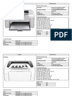 Proposed Printers Low End